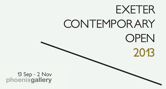 Max Cahn voted as the Exeter Contemporary Open Audience Choice Award Winner